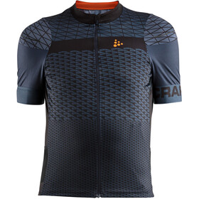 Craft Route Jersey Men Gravel/Black